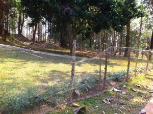 Ein neuer Zaun für das Kirsten Jade Rescue Center